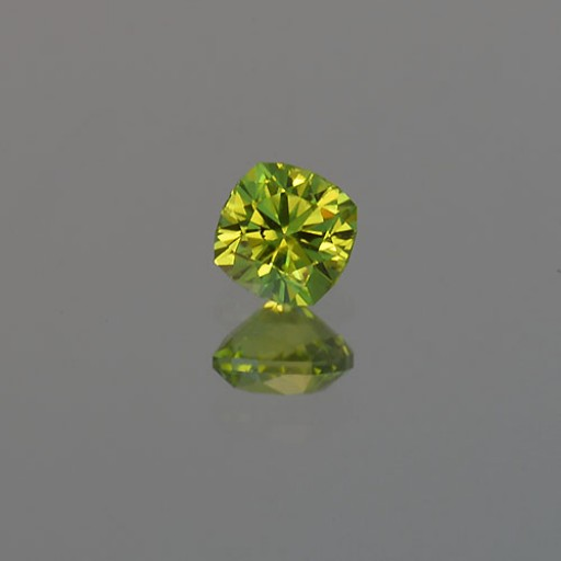 0.95 CTS Peridot Barion Cushion Natural Loose Gemstone
