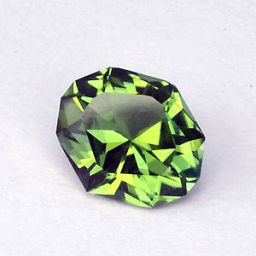 0.80 CTS Tourmaline Green Oval Cut Natural Loose Gemstone
