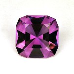 4.30 CTS Amethyst Classic Square Cut Natural Loose Gemstone