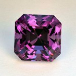 7.54 CTS Amethyst Asscher Cut Natural Loose Gemstone