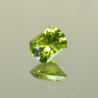 1.62 CTS Rectangle Cut Natural Peridot Loose Gemstone