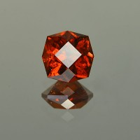 3.84 CTS Old Mine Cut Natural Spessartite Garnet