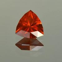 3.46 CTS Trillion Cut Natural Spessartite Garnet
