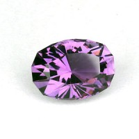 1.37 CTS Amethyst Oval Cut Natural Loose Gemstone