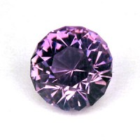 1.63 CTS Amethyst Round Cut Natural Loose Gemstone