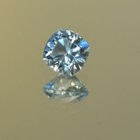 1.13 CTS Aquamarine Square Cushion Cut Natural Loose Gemstone