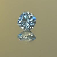 1.13 CTS Aquamarine Square Cushion Cut Natural Loose Gemstone