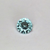 0.50 CTS Emerald Round Brilliant Cut Natural Loose Gemstone
