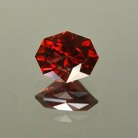 4.97 CTS Oval Cut Natural Almandine Red Garnet Natural Loose Gemstone