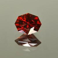 4.97 CTS Oval Cut Natural Almandine Red Garnet Natural Loose Gemstone