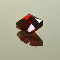 3.02 CTS Pyrope Red Garnet Oval Checkerboard Cut Natural Loose Gemstone