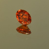 1.08 CTS Spessartite Oval Cut Natural Loose Gemstone