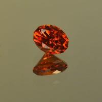 1.70 CTS Spessartite Oval Cut Natural Loose Gemstone