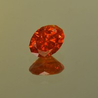 2.30 CTS Spessartite Oval Cut Natural Loose Gemstone