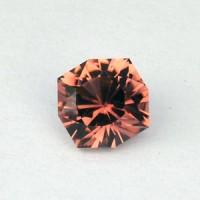 0.64 CTS Tourmaline Rubellite Red Antique Cut Natural Loose Gemstone