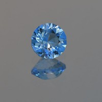 1.67 CTS Topaz Electric Blue Round Cut Loose Gemstone