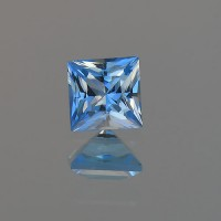0.70 CTS Topaz Electric Blue Princess Cut Loose Gemstone